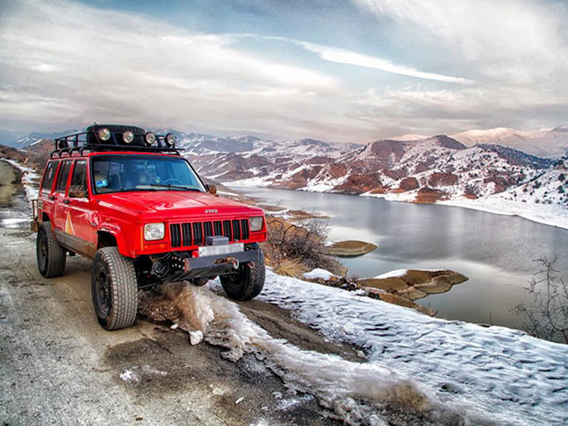 Jeeping in Armenia
